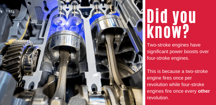 Did You Know? Facts about 2-stroke engines.